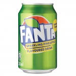 FANTA PINEAPPLE CAN 330ML