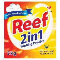 REEF 2IN1 WASHING POWDER 2KG