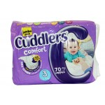 CUDDLERS COMFORT DIAPERS JP SiZE3 70EA