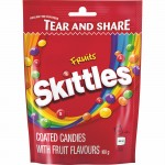 SKITTLES CHEWY CANDY FRUITS 160GR